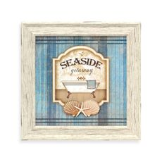 Seaside Retreat Bathroom Wall Art - Bed Bath & Beyond