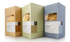 Williams-Sonoma Artisanal Pastas on Packaging of the World - Creative Package Design Gallery