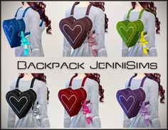 Jenni Sims: Accessory Backpack • Sims 4 Downloads