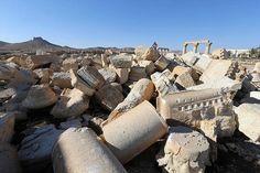Os arqueólogos se preocupam em salvar o que restou de Palmira, na Síria  http://www.tudoporemail.com.br/content.aspx?emailid=8823