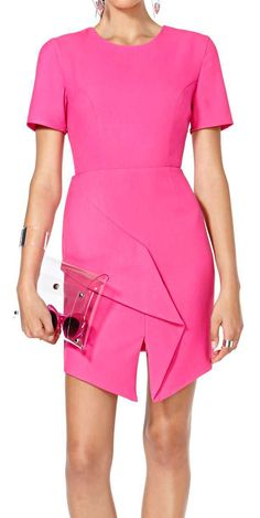 Fuchsia Origami Dress