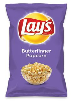 Wouldn't Butterfinger Popcorn be yummy as a chip? Lay's Do Us A Flavor is back, and the search is on for the yummiest flavor idea. Create a flavor, choose a chip and you could win $1 million! https://www.dousaflavor.com See Rules.