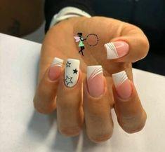 Magic Nails, Cute Acrylic Nails, Nail Spa, Beauty Nails, Hair And Nails, Nail Designs, Bling Nails, Designed Nails, Work Nails