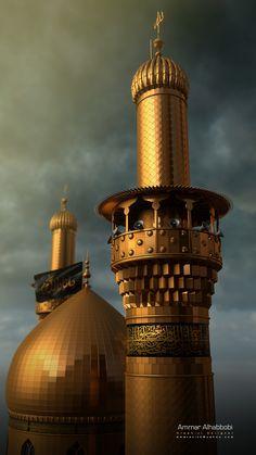 Roza Imam Hussain, Imam Hussain Karbala, Ya Hussain Wallpaper, Imam Hussain Wallpapers, Islamic Images, Islamic Pictures, Karbala Pictures, Muharram Wallpaper, Islamic Wallpaper Hd