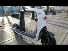 ▶ Lit Motors Kubo Cargo Scooter | CES 2014