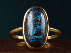 EB Boulder Opal Ring