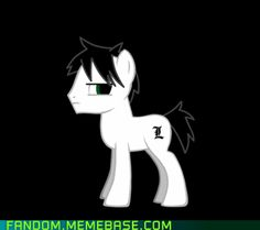 Ponified L (From Death Note)