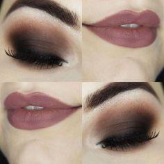 Makeup Smokey Eyes Brown Maquiagem com Olho esfumado Marrom