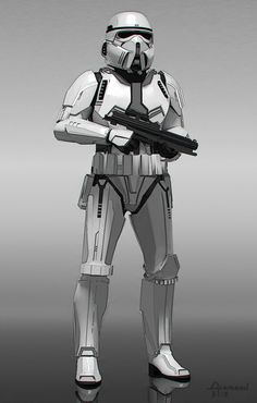 "See Early Concept Art From <em>Star Wars: The Force Awakens</em> | ""Stormtrooper concept"" (March 2013) 