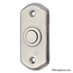 Door Bell Push Satin Chrome