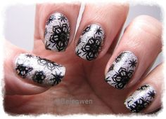 Nail Art by Belegwen: Lumikynnet