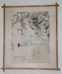 Oriental Watercolor on Silk on Board with Bamboo frame. x in the Other Artwork category was listed for on 24 Aug at by TomHarvey in Vereeniging Kinds Of Music, Listening To Music, Style Guides, Vintage World Maps, Oriental, Bamboo, Survival, Watercolor, Silk