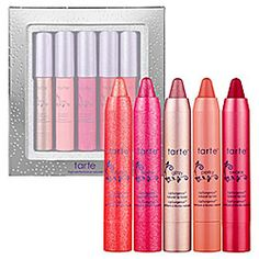 Tarte LipSurgence... I have a whole purse full of these. The BEST. LIP. GLOSS / STICKS. EVER. And they smell amazing.