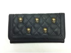 Loungefly Quilted Skull Wallet