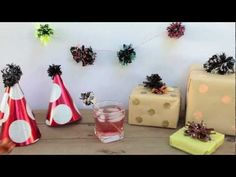 Video DIY: turn old VHS and cassettes into pom pom party decorations