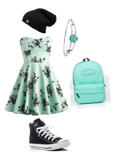 """""""floral"""" by freenank ❤ liked on Polyvore featuring Converse, Vans and Disney"""