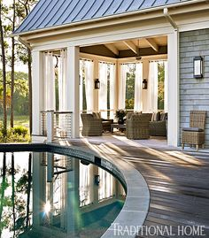 Stylish Lowcountry Home with a Neutral Palette | Traditional Home