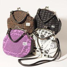 Unique handbags by Risako