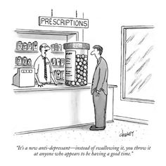 New Anti-Depressant--sounds like a real mood lifter!
