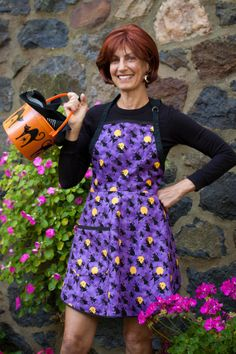 Everyday Flair Wickedly Wonderful Halloween Apron by cococtions, $28.00