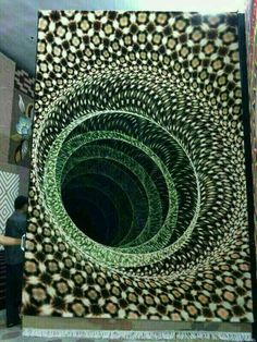 The first 7D carpet in the world,Isfahan,Iran