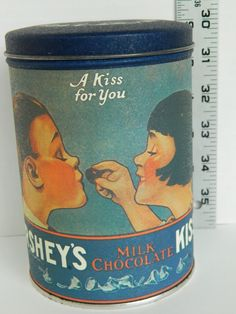 Vintage Hershey Kisses tin