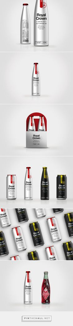 Royal Crown Cola - Packaging of the World - Creative Package Design Gallery - http://www.packagingoftheworld.com/2018/01/royal-crown-cola.html