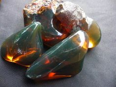Dominican Green Amber