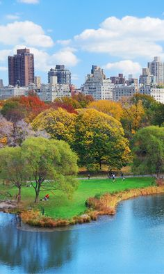 "City planners got this one right! Central park is big enough that you really can ""escape the city"", even while being in the middle of it. The juxtaposition of a beautiful green park in the middle of booming skyscrapers cannot be beat.  Have you been to the 10 most iconic spots in NYC?"