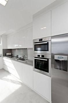 21 Kullanışlı Beyaz Mutfak Modelleri , #beyaz #kullan #modelleri #mutfak