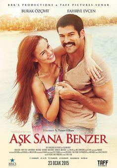 Aşk Sana Benzer - 23 Ocak 2015 Cuma | Vizyon Filmi #AskSanaBenzer #Sinema #Movie #film #Vizyon Burak Özçivit, Fahriye Evcen http://www.renklihaberler.com/sinema-708-Ask-Sana-Benzer