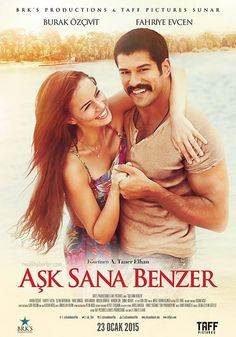 Aşk Sana Benzer - 23 Ocak 2015 Cuma   Vizyon Filmi #AskSanaBenzer #Sinema #Movie #film #Vizyon Burak Özçivit, Fahriye Evcen http://www.renklihaberler.com/sinema-708-Ask-Sana-Benzer