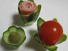 お弁当に❤オードブルに❤きゅうりカップの画像