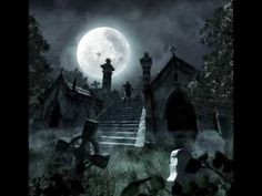 Here you can explore the world of real vampires. Vampires have been around since the dawn of time. Vampires are all around us and here you can read all about them. Graveyard Tattoo, Haunted Graveyard, Scary Haunted House, Halloween Graveyard, Haunted Houses, Graveyard Shift, Abandoned Houses, Gothic Angel, Gothic Art