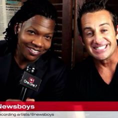Michael Tait and Duncan Phillips MT that smile and those eyes!!!