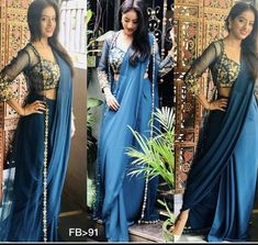 shaliniboutique - Fill ur wordroab with this stunning jacket style saree 😍😍