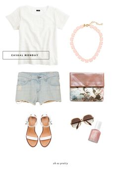 Style // Casual Monday  | Oh So Pretty Blog