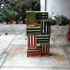 Recycle bookcase