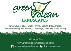 Services we offer @ greenandcleanlandscapes.co.uk #Driveways #Patios #Paving #Fencing #Decking #Walls #Drainage #Groundworks FREE no obligation quotes! Landscaping Company, Garden Landscaping, Block Paving, Timber Deck, Garden Landscape Design, Brick And Stone, Driveways, Cardiff, Decking