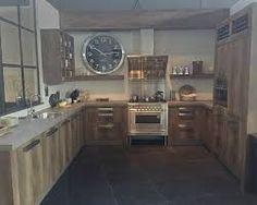 Afbeeldingsresultaat voor houten keuken