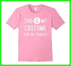 Mens This IS My Costume I'm An Eraser Shirt, Funny Halloween Gift Small Pink - Holiday and seasonal shirts (*Amazon Partner-Link)