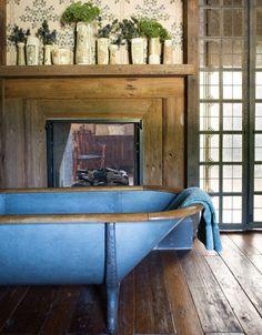 tub of blue