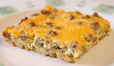 Breakfast Casserole – It's not just for Breakfast! We always have it for dinner. :) And it could not be easier to make! That's a good thing, because Breakfast Casserole is one of Kevin's Most Requested Meals so I make it a lot. :p Wanna make it? Here's what you'll need: 1 pkg crescent rolls …