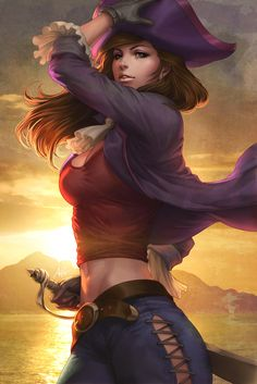 Evelet of The Lost Kids by Artgerm on deviantART