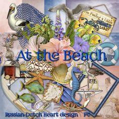 Scrapbooking TammyTags -- TT - Designer - With a Russian-Dutch Heart, TT - Item - Kits or Collections, TT - Theme - Summer or Beach