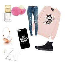 Walk by amna107 on Polyvore featuring polyvore, fashion, style, Markus Lupfer, Yves Saint Laurent, Converse, Frends, Casetify and Eos