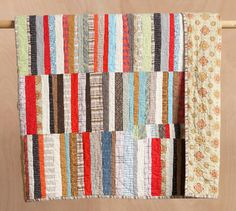 inspiration for quilt - String Theory Quilt by Denyse Schmidt