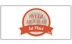 Art Ed Blog of the Year. Great advice about being an art teacher! Sticking up for your program, organizing and scrapping a project if it isn't working - even mid way through. It's ok!