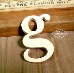 beautiful lowercase g wooden letter by northstar50 on etsy 2800