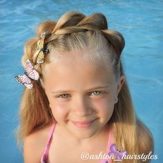 This is the CGH Split Headband that is inspired by @cutegirlhairstyles
